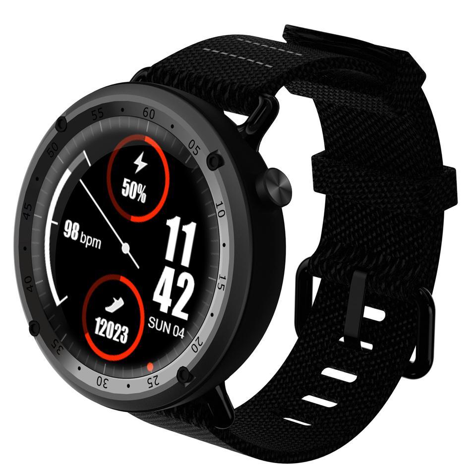 9e1a93ee96771 Relojes Deportivos Hombre Bakeey L19 Reloj Deportivo Inteligente Android  Monitor De Ritmo Cardíaco GPS Barométrico Sangre Pulsera Música Alarma  Deporte ...