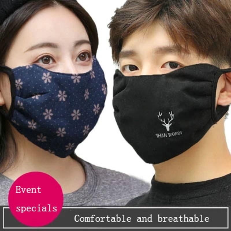 Winter Cotton Cover Face Masks Women S Cotton Cloth Warm Men S Breathable  Easy To Breathe Cold And Dustproof Can Be Cleaned UK 2019 From Johiny 27ad4804fe