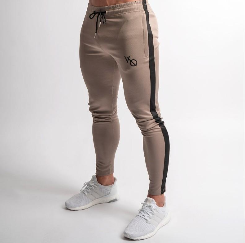 Männer Dünne Jogging Böden Jogger Sport Hosen Gym Dünne Lange Hosen