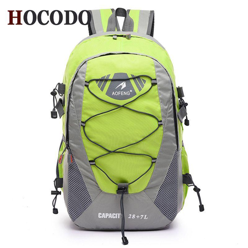 118831e085f3 Wholesale Hot Sale 50L Outdoor Backpack Camping Bag Waterproof  Mountaineering Hiking Backpacks Mochila Sport Bag Climbing Rucksack  Designer Backpacks ...