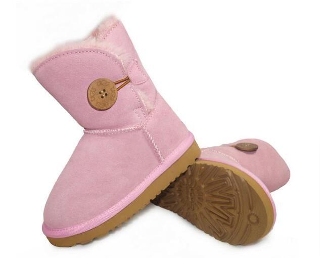 Infant Baby Junge Mädchen Kleinkind Schnee Schuhe Winter Weiche Sohle Plüsch Halbe Stiefel 0-18 mt