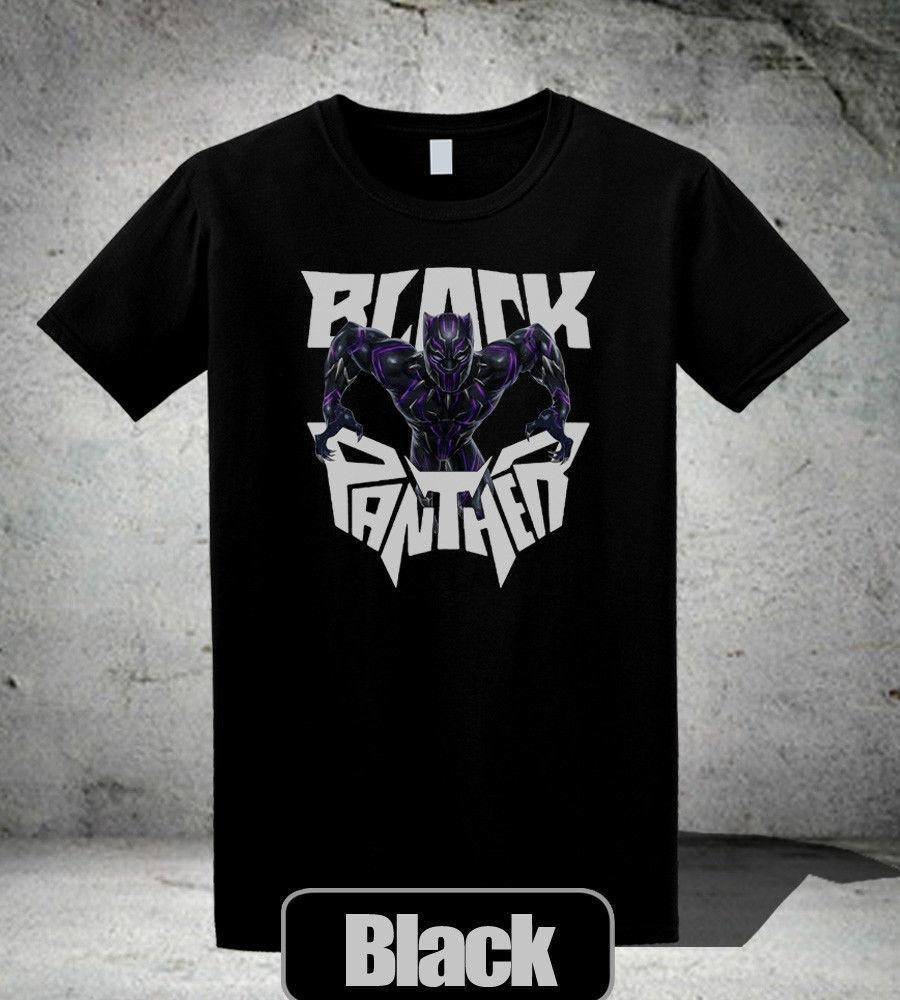 3723378f062 Black Panther T Shirt Neon Face Wakanda Marvel Movie Men S Tee Shirt 2  Print T Shirt Mens Summer Cool Tshirts Retro T Shirts From Gaobei01