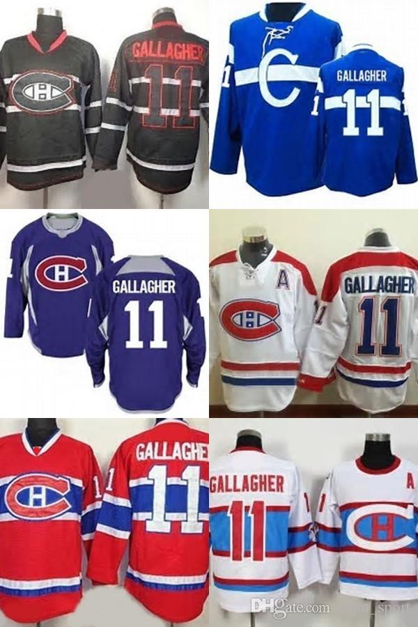 2019 Mens Womens Youth Custom Jersey Montreal Canadiens 11 Brendan  Gallagher Black Blue Purple White Red Best Quality Ice Hockey Jerseys From  Fanatics 3f03b50aedf
