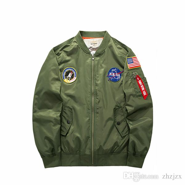 755a551b84 Men Casual Collar Jacket Air Force One MA01 American Style Pilots Men Pring  And Autumn Plus High Tide Clothing Outerwear Mens Jackets Denim Jacket  Sheepskin ...