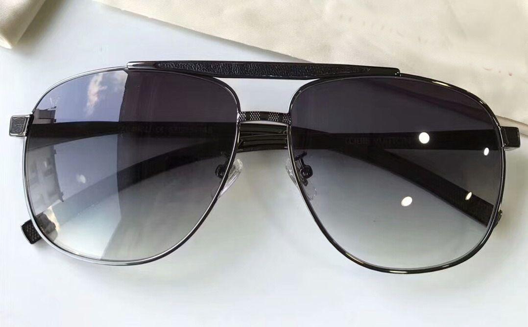 06418c551e Men Square Attitude Pilote Sunglasses Gold Brown Designer Luxury Vintage  Fashion Sunglasses Eye Wear Brand New With Case NUMLV1221 8 Glass Frames  Online ...