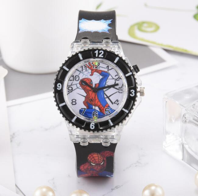 Watches High Quality Waterproof Cartoon Quartz Watches For Student Boy Kids Child Gift Wristwatch Cool Spiderman Children Watch