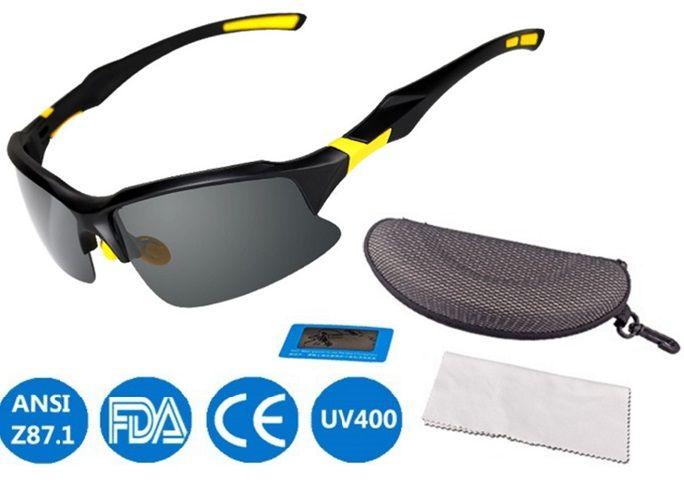 b5e75cb06c Unisex Polarized Sports Sunglasses Ultra Light Sun Glasses for Men ...