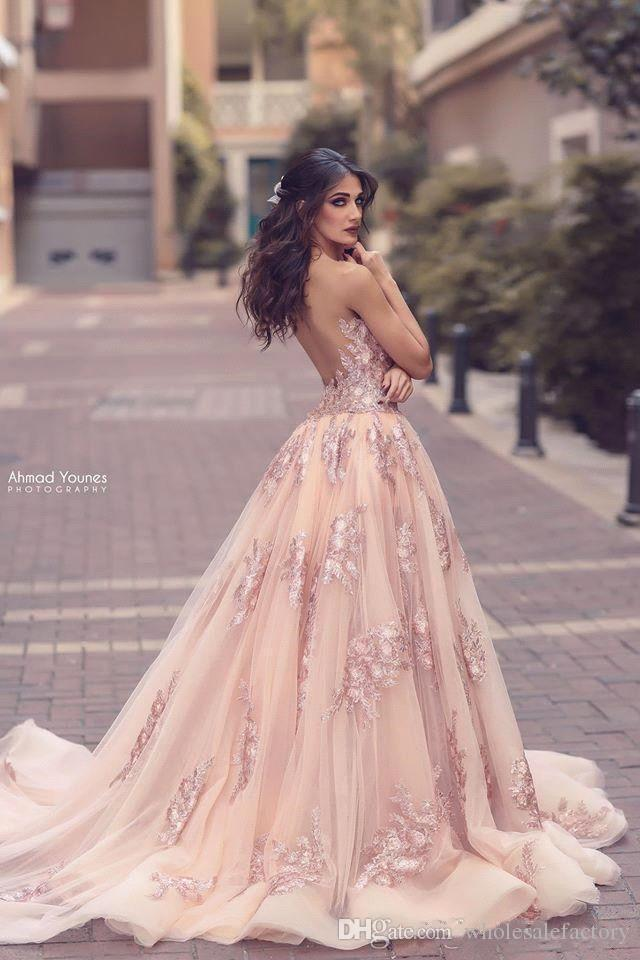 2018 Arabic Sheer Scoop Neck Lace Sheath Evening Dresses Lace Applique Split Tulle Over Skirt Seen Through Back Evening Formal Party Dresses