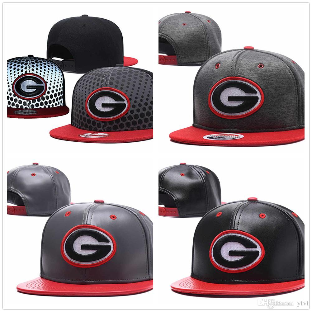 2019 Wholesale Mens NCAA Georgia Bulldogs Snapback Embroidered Adjustable  Sport Hip Hop Hats USA College Caps cf28b92ace1
