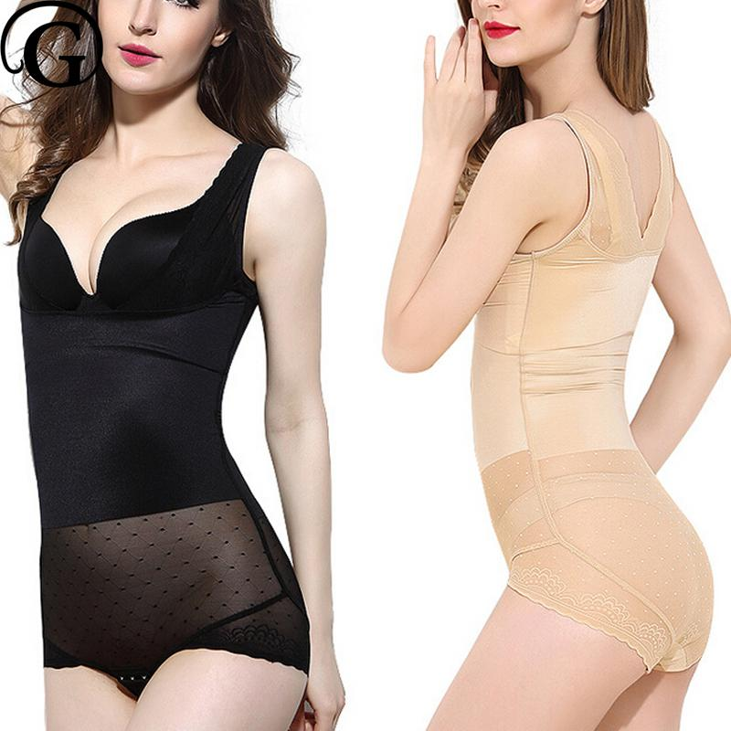 c23e2151bed35 2019 PRAYGER Bodysuit Women Body Shaper Waist Slimming Postpartum Underwear Shapewear  Waist Corsets Tummy Control Bra Up Underbust From Zanzibar