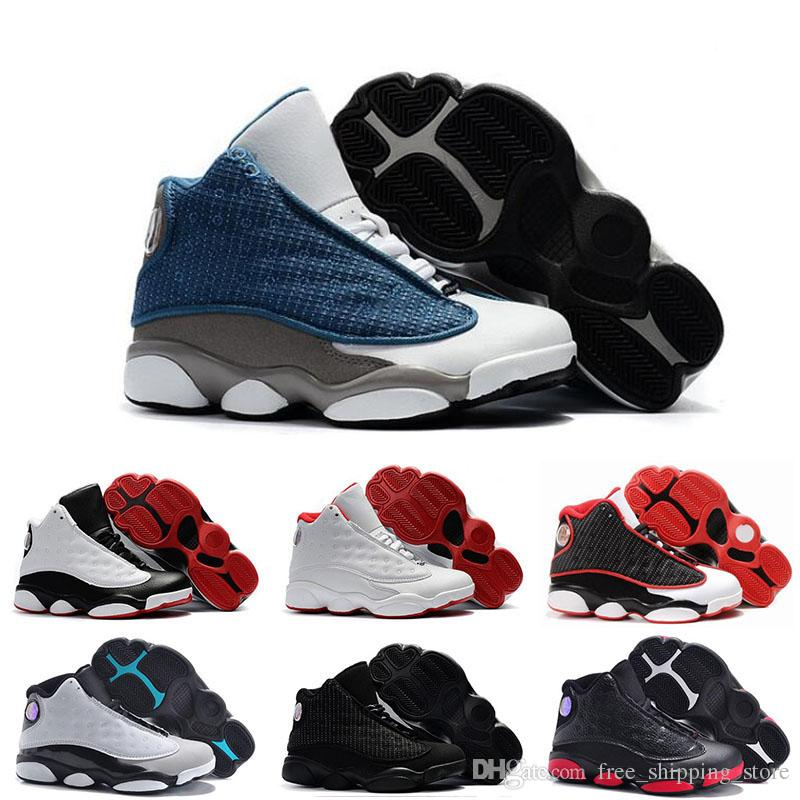 db9e953d5dba New Kids 13 13s Basketball Shoes Chicago He Got Game Bred Altitude DMP Boys  Girls Sneakers Children Baby Sports Shoes Size 11C 3Y Walking Shoes Shoes  ...