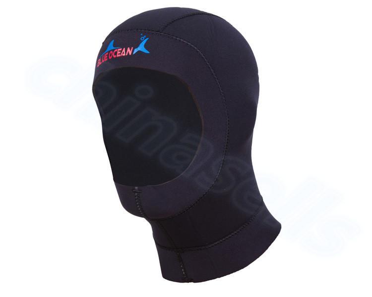 3mm Neoprene Men Women Fishing Snorkeling Hood Cap Swim Full Face Mask  Waterproof Warm Scuba Diving Hat Winter Swimming Cap UK 2019 From Simmer 1c19229f2f