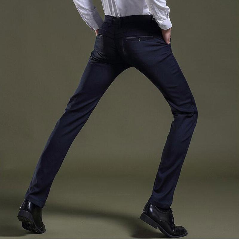 2019 Mens Formal Dress Pants Bussiness Trousers Classic Designer