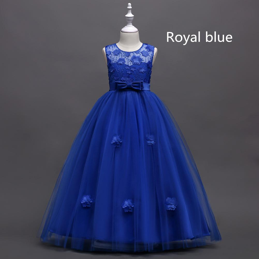 05242754ae5b 2018 Kids Princess Lace Flower Girl Dresses Tulle Girls Pageant ...