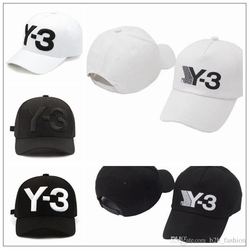254dfc1e2f793 New Y 3 Dad Hat Big Bold Embroidered Logo Baseball Cap Adjustable Strapback  Hats Y3 Ball Caps CCA9221 Hats For Men Hatland From B2b fashion