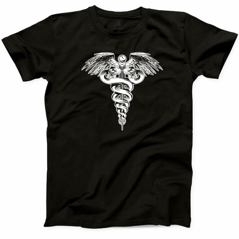 2018 New Fashion Man Medical Sign T Shirt Nurse Doctor Rn Funny