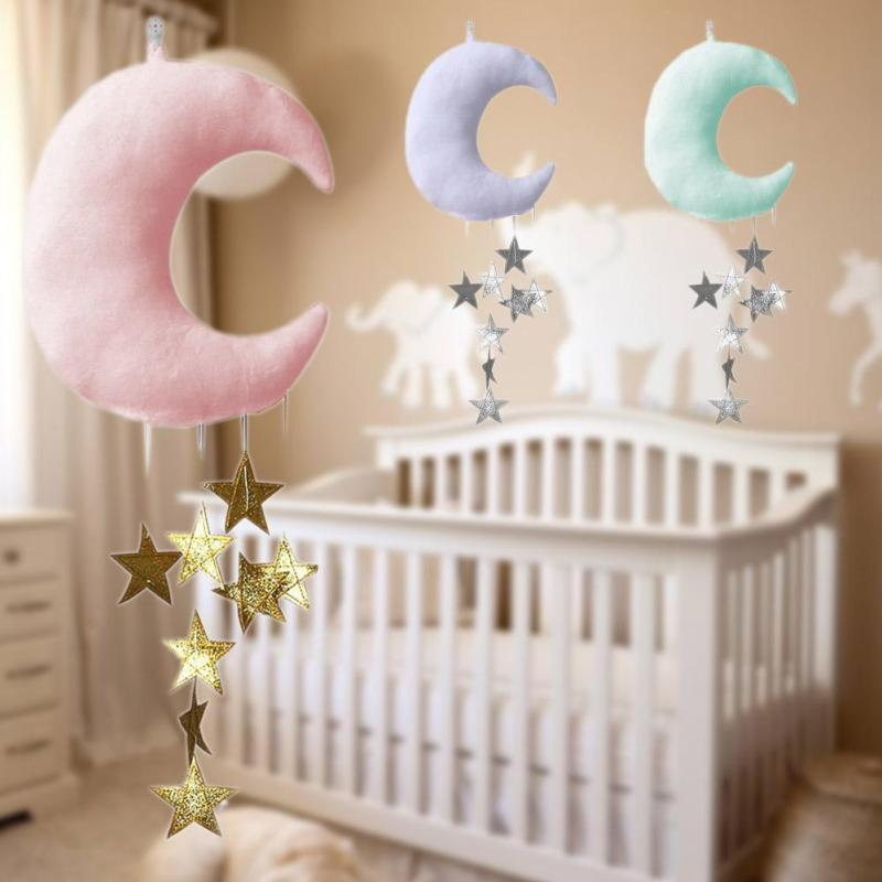 Baby Pillow Decorate Hanging Moon Star Pillow Cushion Newborn ...