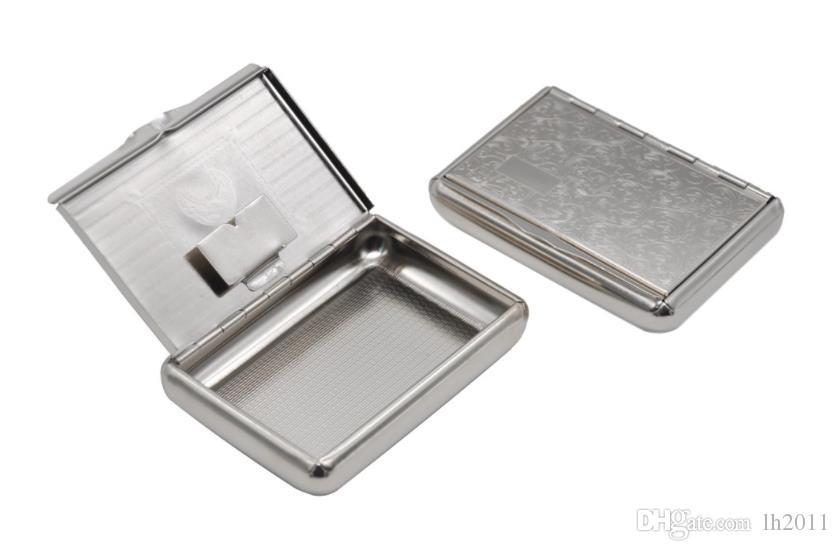 Metal süper ince kutu saklama kutusu moistureproof kutusu
