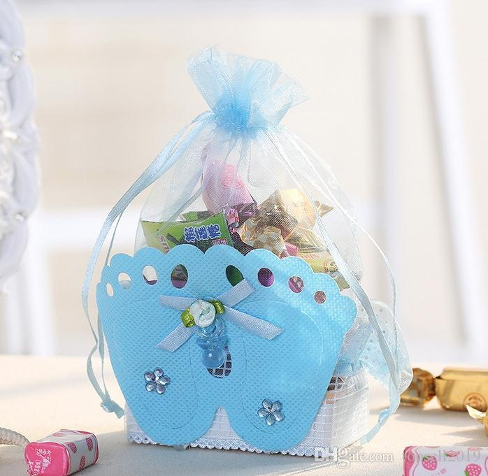 Wedding Decorations Baby Shower Gift Bags Baby Shower Favors Bags With Baby  Feet Decorative SN1551 UK 2019 From Topsell2019 6ef18d3e0