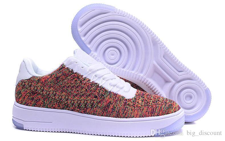 Compre Nike Air Force 1 Flyknit 2.0 Moda Hombres Zapatos Low One 1 Hombres Mujeres China Casual Shoe Fly Designer Royaums Tipo Breathe Skate Knit