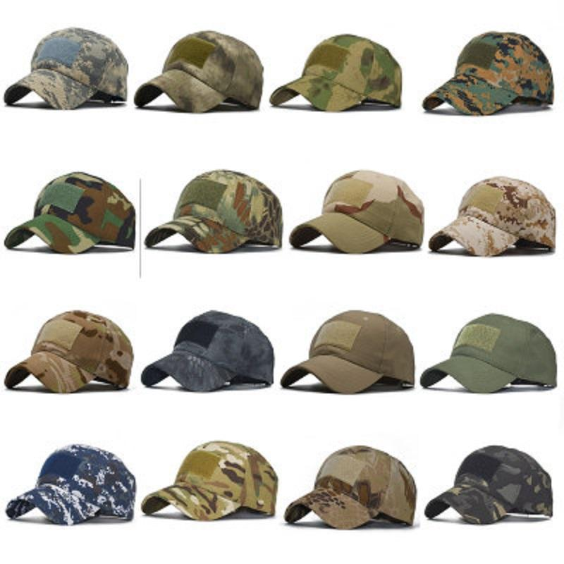 509069a2252b Gorra de béisbol de camuflaje Casquette Gorra táctica para exteriores  Sombrero para el sol militar Deportes Mágicos Pegatinas Gorras DHL GRATIS