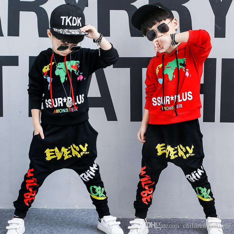 d4fb7eee1e41 2019 Baby Boys Clothes Set Kids Clothing Children Sport Sweater ...