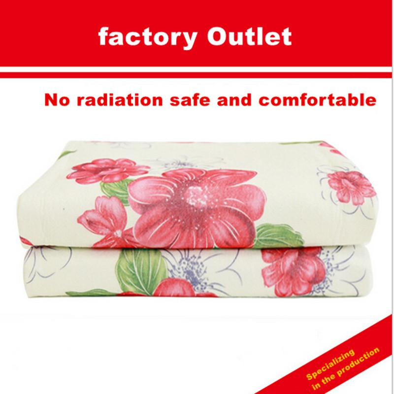 Wholesale- Charming home thermostat single-sided flower wholesale  manufacturers without radiation safety blanket Electric blankets