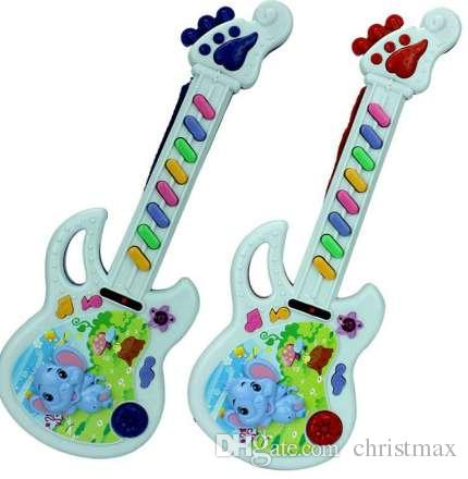 Baby Acoustic Elephant Guitar Musical Instrument Baby Toy Music Toy