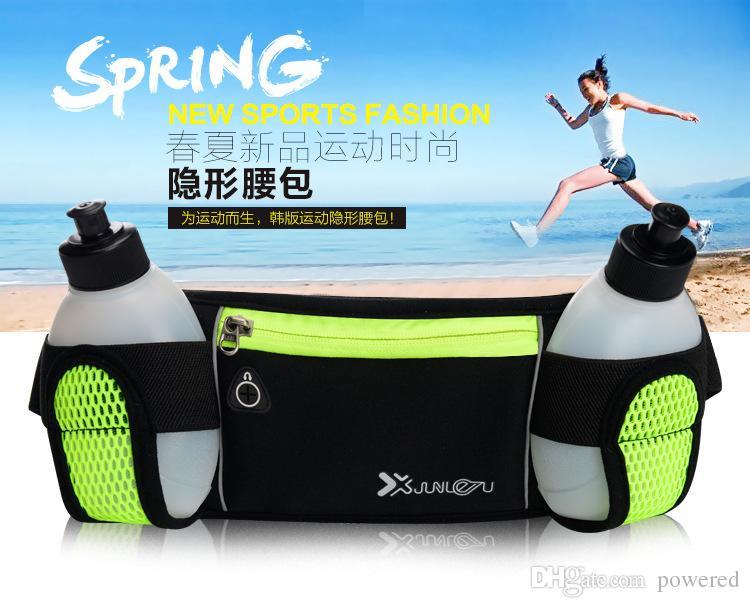 حقيبة الخصر للماء لفون X 8 7 6 6S زائد في الهواء الطلق تشغيل الرياضة فاني حزمة الحقيبة مقاومة للماء حالة الهاتف شحن مجاني