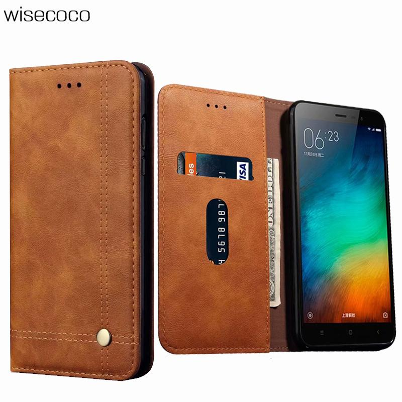 Magnetic Flip Case For Xiaomi Redmi Note 3 Luxury Wallet Stand Fashion Solid Color Phone Leather Cover For Xiaomi Red Mi Note3 Phone Bags & Cases