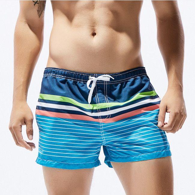 Men's Clothing Summer Boards Shorts Mens Beach Shorts Low Waist Beachwear Man Bermudas Sea Pool Bathing Short Seobean Brand Design Good Quality