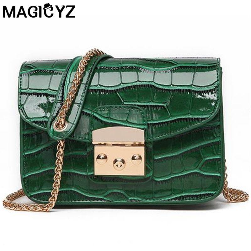 Alligator Crocodile Leather Mini Women Crossbody Bags Small Women Bag Sling  Lady Messenger Shoulder Bag Purse Lady Handbag Mens Messenger Bags Mens  Bags ... 4790a807ea78a