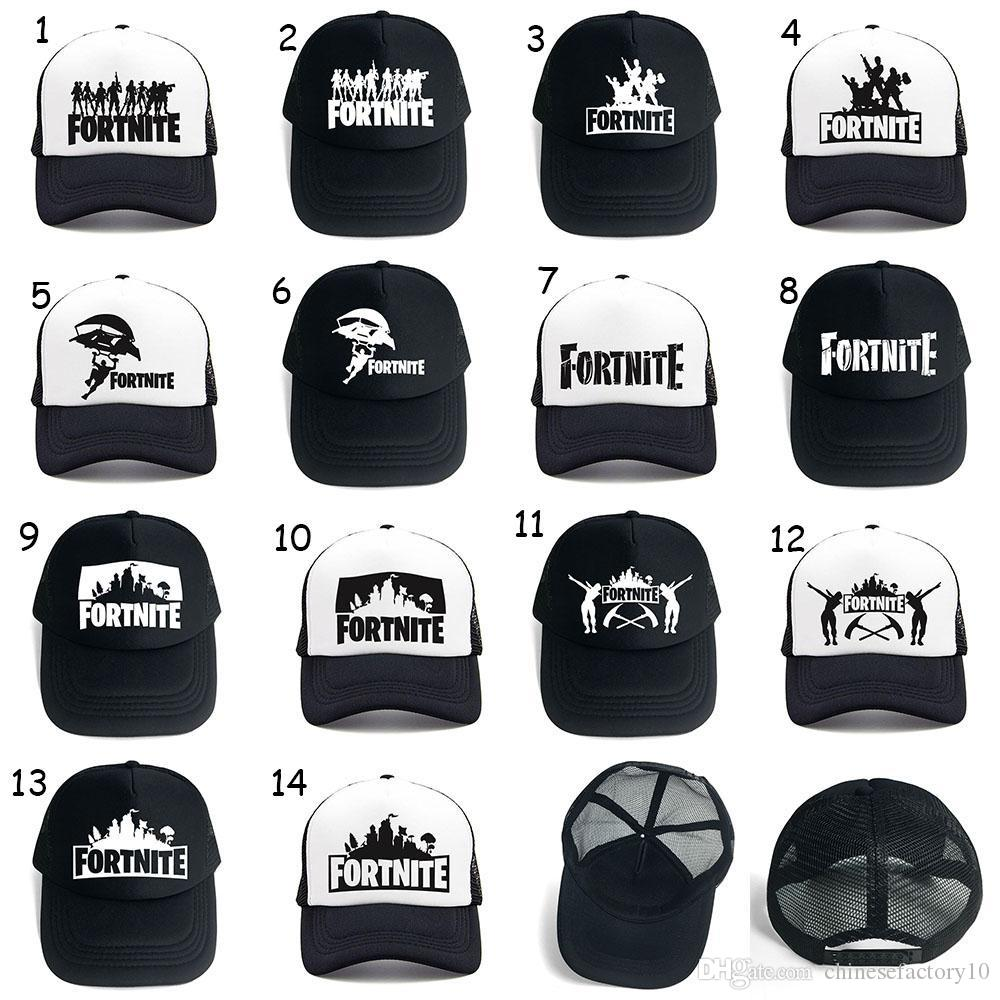 Fortnite Caps Unisex Teenager Baseball Cap Man Women 2018 Summer Breathable  Adjustable Sunhat Hip Hop Hat 14 Designs Canada 2019 From Chinesefactory10 0255a4e57ca