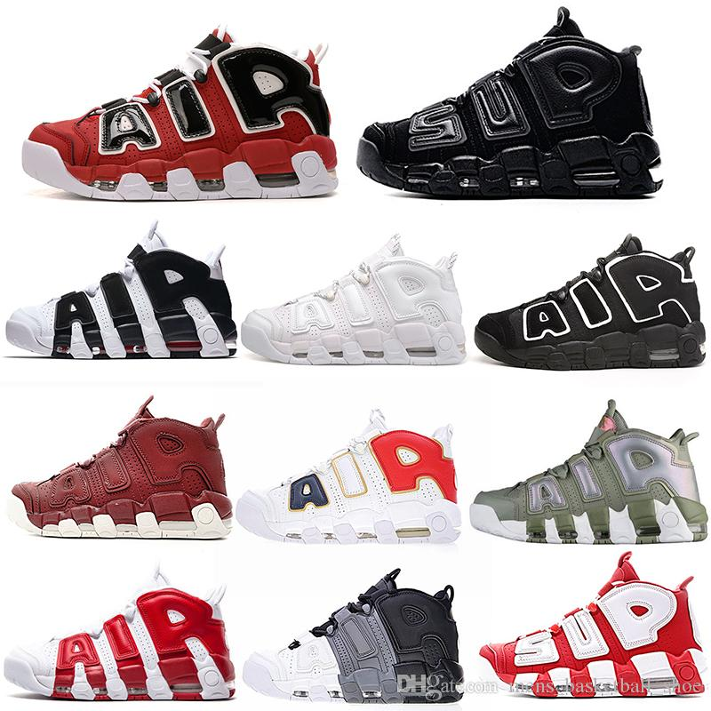 399a807170ef 2019 Uptempo Olympic UNC Shoes Scottie Pipen Basketball Running Designer  Shoes For Men Women Luxury Brand Sports Sneakers Basketball Sneakers Shoes  Canada ...