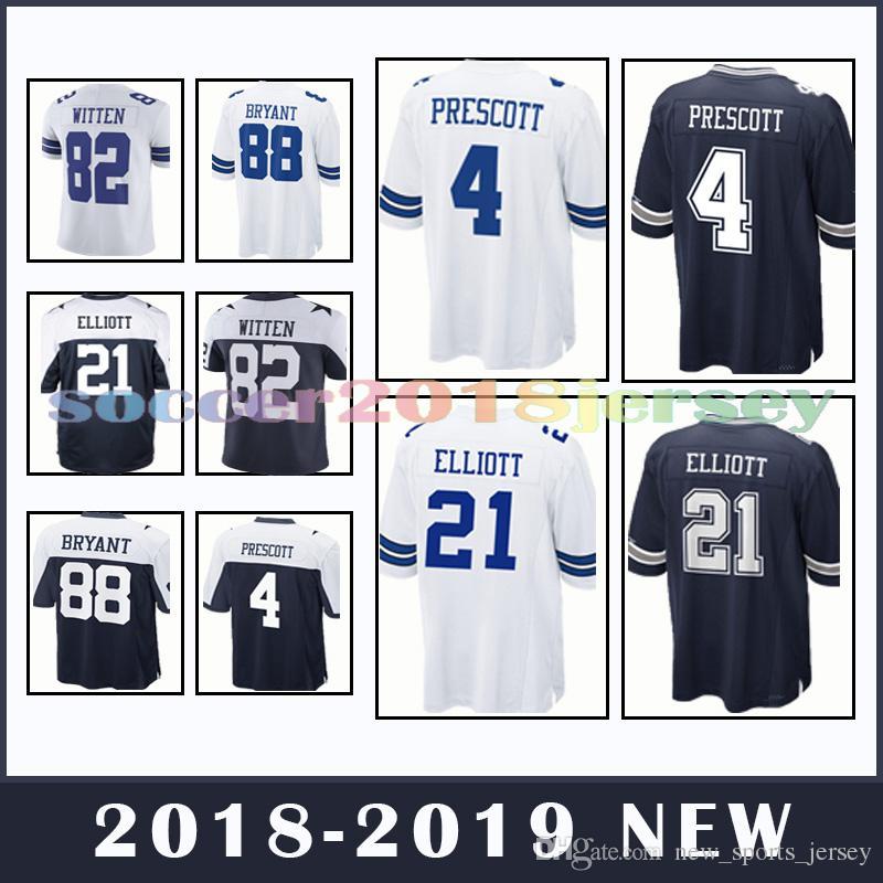 Dallas Cowboys 4 Dak Prescott 21 Ezekiel Elliott 82 Jason Witte 90 ... 68dfad5da