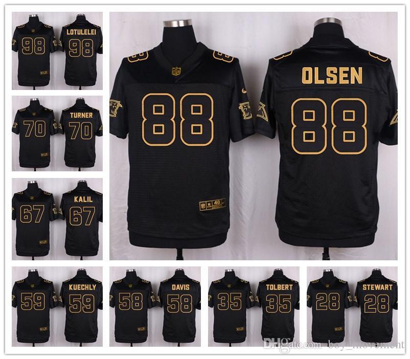 114aa0a6 2016 Carolina 50th Anniversary football jersey 29 Derrius Guice 95 Da'Ron  Payne Jersey Panthers 90 Julius Peppers Raider