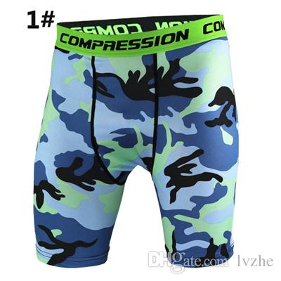 2018 New Mens Compression Gym Sports Shorts Pants Fitness Running Gym Pouch Shorts Underwear Size S-3XL
