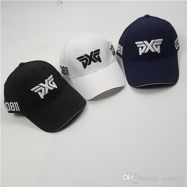 d700a305f93 2019 New Sunscreen Shade Sport Golf Hat PXG Golf Cap Baseball Cap Outdoor  Hat Peaked Cap From Annayx