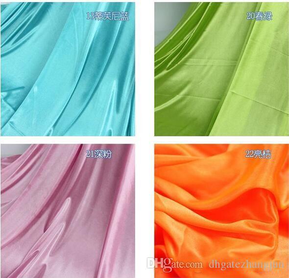الحرير نسيج الزفاف خلفية العرض 150 سنتيمتر / 59 بوصة الساتان النسيج الديكور بلون القماش / أداء الملابس أقمشة الملابس بطانة