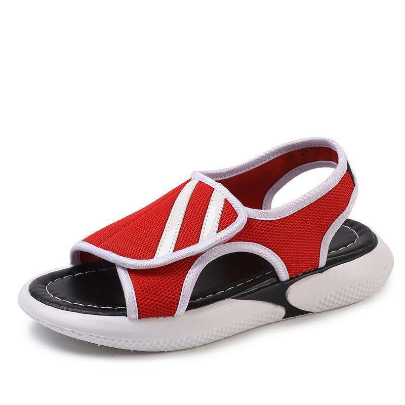 3b70effaa7f39 Women Summer Mesh Breathable Sandals Open Toe Flat Sandals Beach Flat Shoes  For Ladies Jack Rogers Sandals White Wedges From Serendip