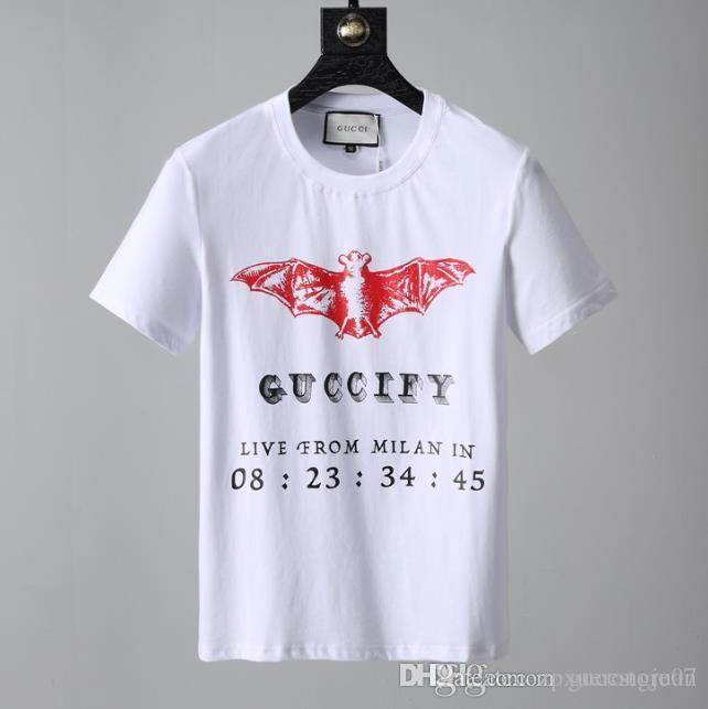 fce1df03 GY Summer T Shirt For Men Tops With Branded Letters Designer Shirts Luxury  Short Sleeve Tshirt Brand Mens Clothing Tee S XL Awesome T Shirts For Guys  Cool ...