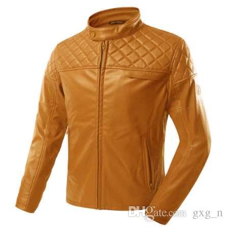 SCOYCO Retro Leather Motorcycle Jacket Chaqueta Moto Jaqueta Motoqueiro  Blouson Moto Homme Gears Clothing Armor Vintage Harley UK 2019 From Gxg n ccbbbf5328a31