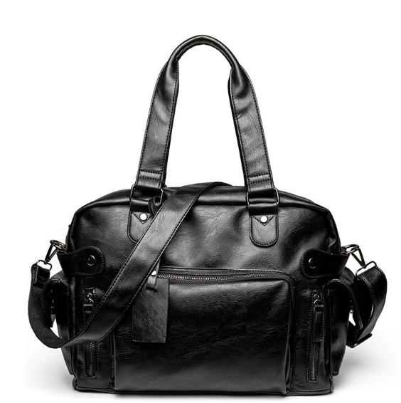 31c58e0541f2 2019 2018 Gym Bags New Classic Waterproof Large Capacity Sports Bag Retro  Casual Luggage Bag Genuine Leather Duffle Bags C258 From Raisins