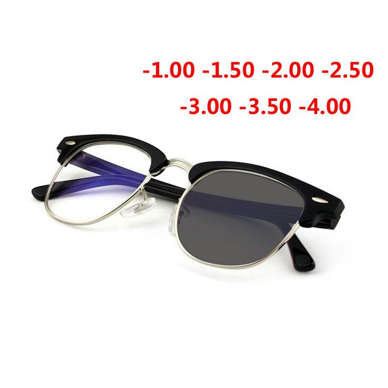 a1b3f0fa61 2018 New Sun Photochromic Myopia Eyeglasses Optical Women Finished Myopia  Eyewear Prescription Glasses Frame -1.0 -4.0 NX Eyewear Frames Cheap Eyewear  ...