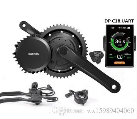 Bafang BBSHD 48V 1000W Ebike Motor with color LCD display 8FUN mid drive Electric Bike conversion kits