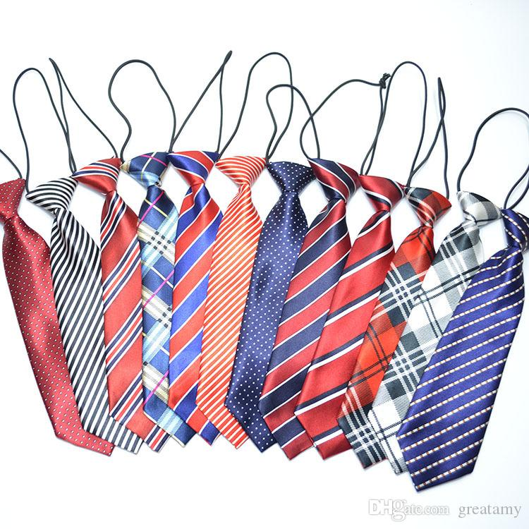 e3e875837 Children S Neck Tie Kids Rubber Band Wear Printed Necktie Fancy ...