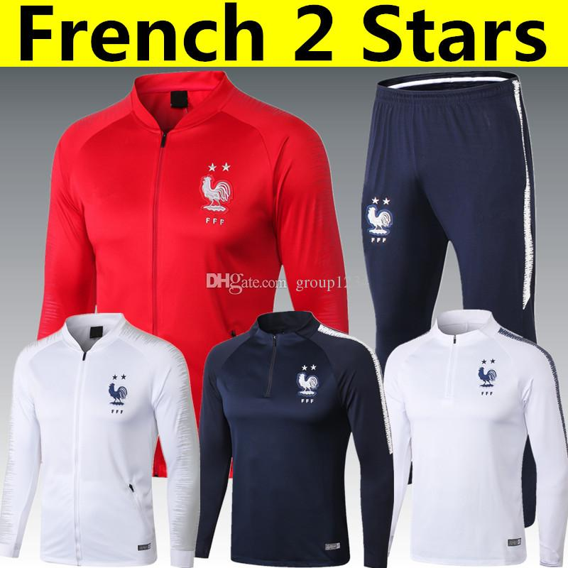a7566b006 Thail AAA Quality 2 Stars French POGBA GRIEZMANN MBAPPE AWAY Long ...