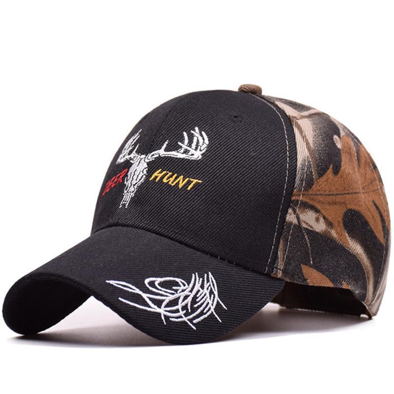 e388d0c2c7c MNKNCL 2018 New Arrival Deer Cap Camo Caps Baseball Casquette Camouflage  Hats Casquette Polo Men Desert Hat Trucker Cap Snapback Caps From  Delove520