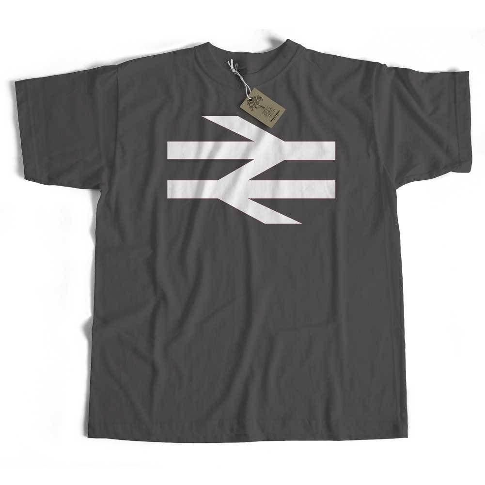 British Rail T-Shirt from Old Skool Hooligans - Double Arrow Logo Railway