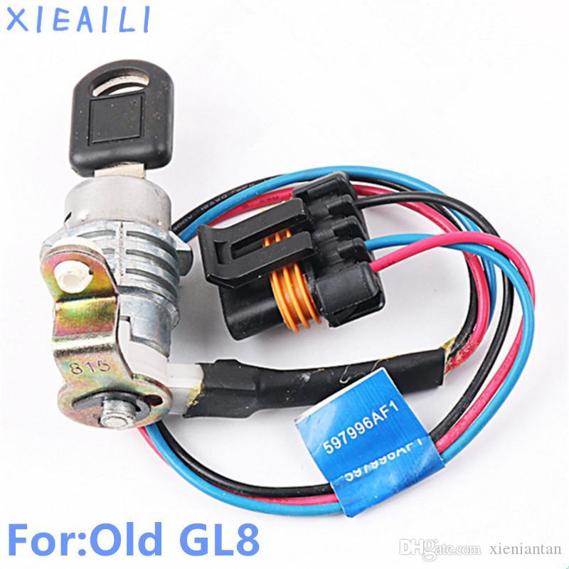 OEM Left Door lock Cylinder Auto Door Lock Cylinder For Buick Old GL8/Firstland With Key D41